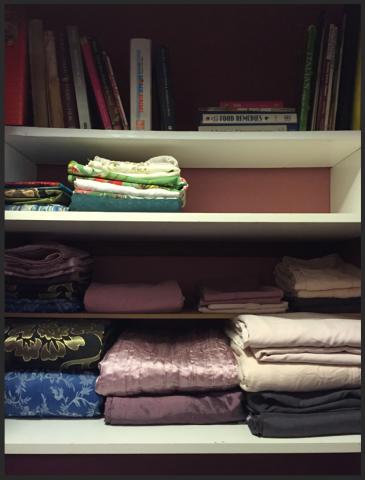 organised linen, organized linen
