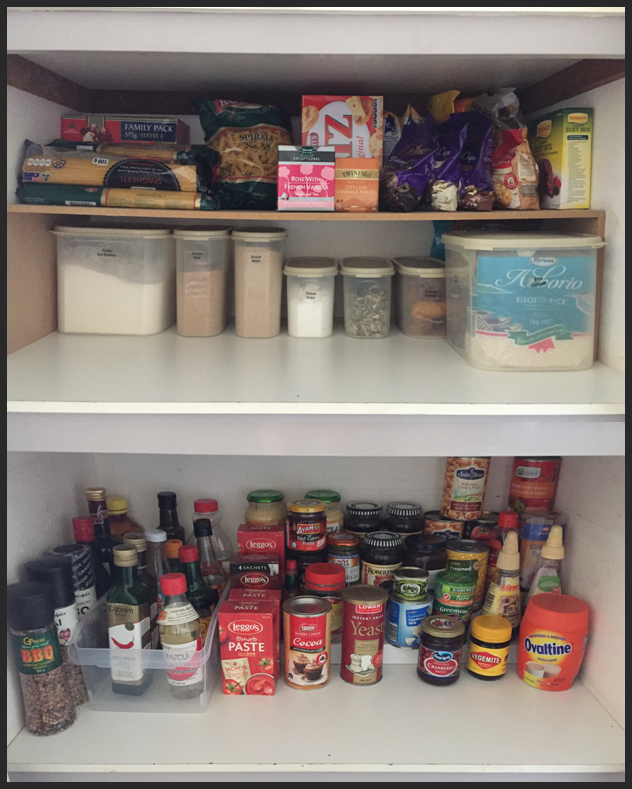 organised pantry, organized pantry, clutter free